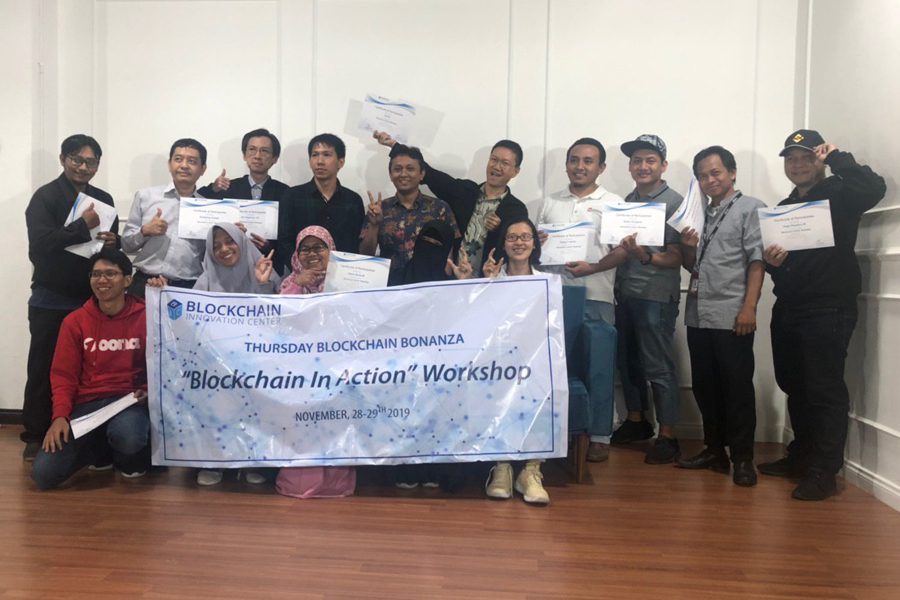 Thank you guys for attending our Group Training on Blockchain in Action, Thursday, November 28, 2019 - Friday, November 29, 2019